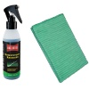 Microfibre cloth green, plastic cleaning, 40x40cm